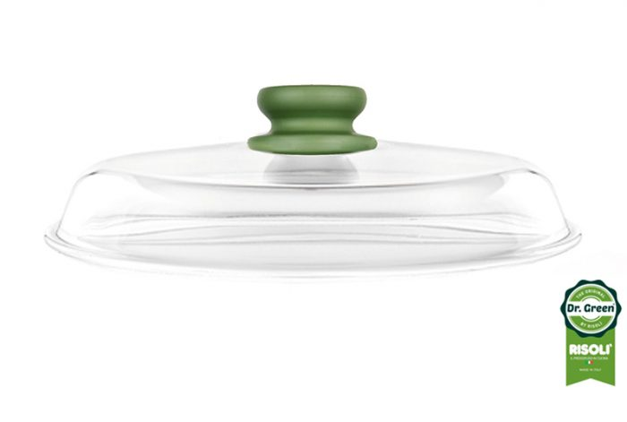 DrGreen-Glasslid-28cm-side-view