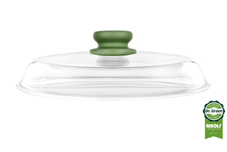 DrGreen-Glasslid-28cm-side-view
